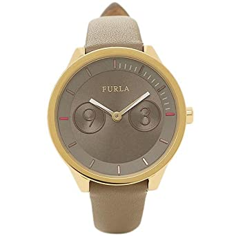 7e5767f4b385 [フルラ] 腕時計 レディース FURLA R4251102510 866653 ベージュ/イエローゴールド [並行輸入品