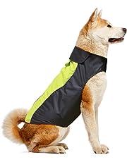 Vizpet Dog Raincoat Waterproof Lightweight & High Visibility Dog Coat Jacket for Small Medium Large Dogs-XXL