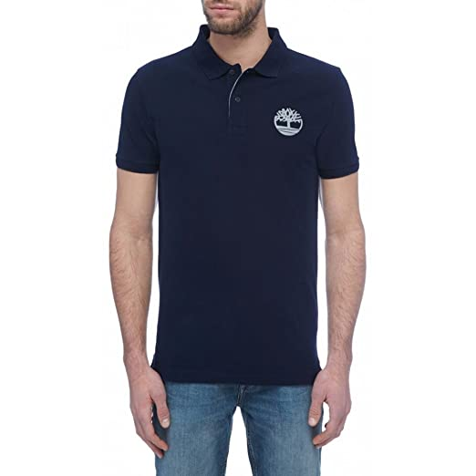 Timberland SS Slim Millers Logo, Polo - L