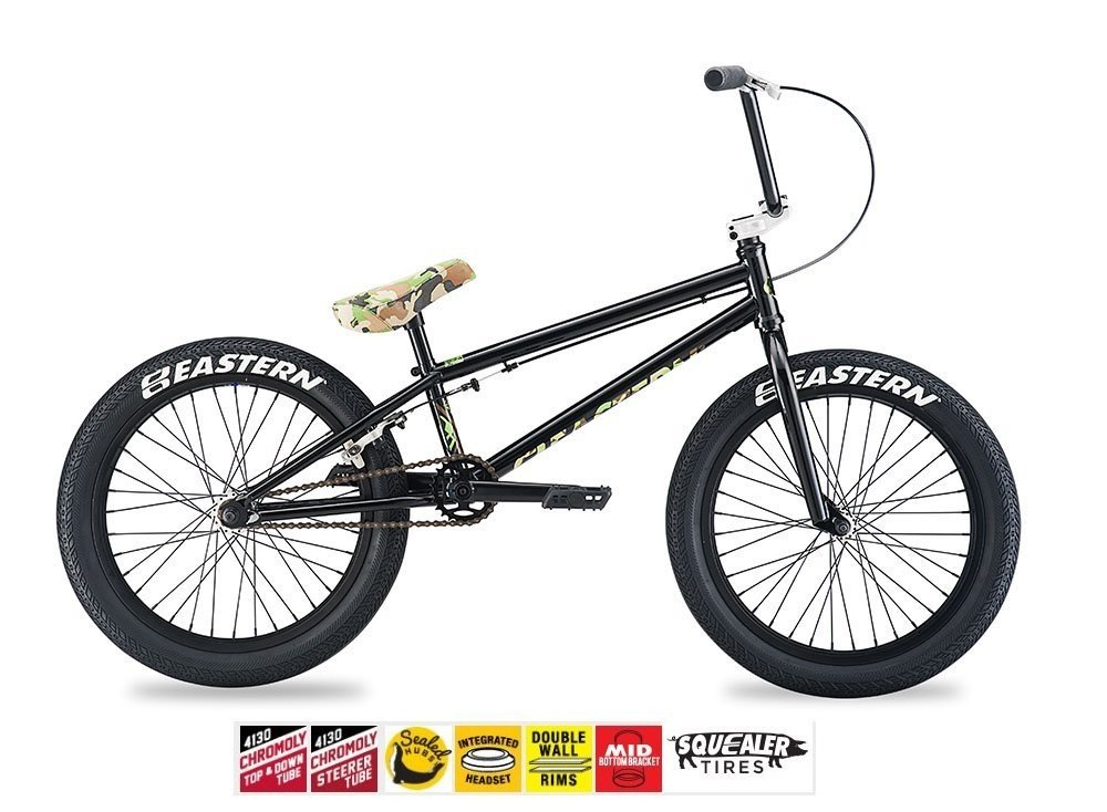 Eastern Talisman BMXバイク2017自転車ブラックand Camo B074PCW8DZ