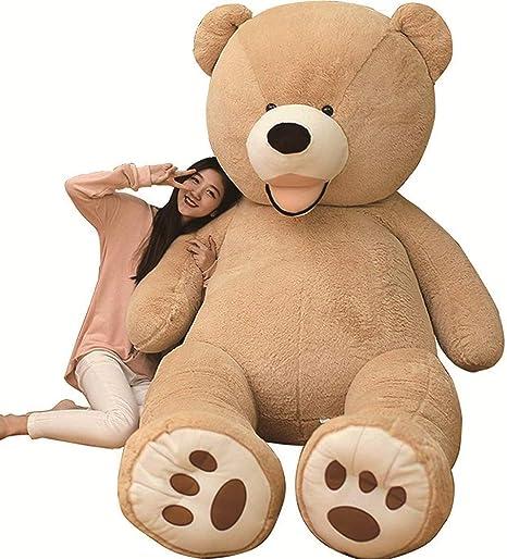 Amazon.co.jp: AMIRA TOYS ぬいぐるみ 特大 くま テディベア 可愛い熊 ...