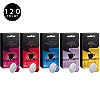 Deals on 120-Pack Lavazza Espresso Capsules Machines Variety Pack