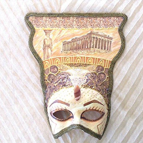 Venetian mask, ancient greek mask, handmade mask, vintage mask, elegant mask, masquerade ball, costume mask, costume mask, ancient greece, ancient greek costume, (Costume Greece)