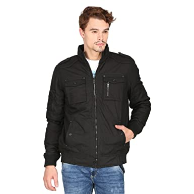 56cb55a39 Mufti Black color Jacket: Amazon.in: Clothing & Accessories