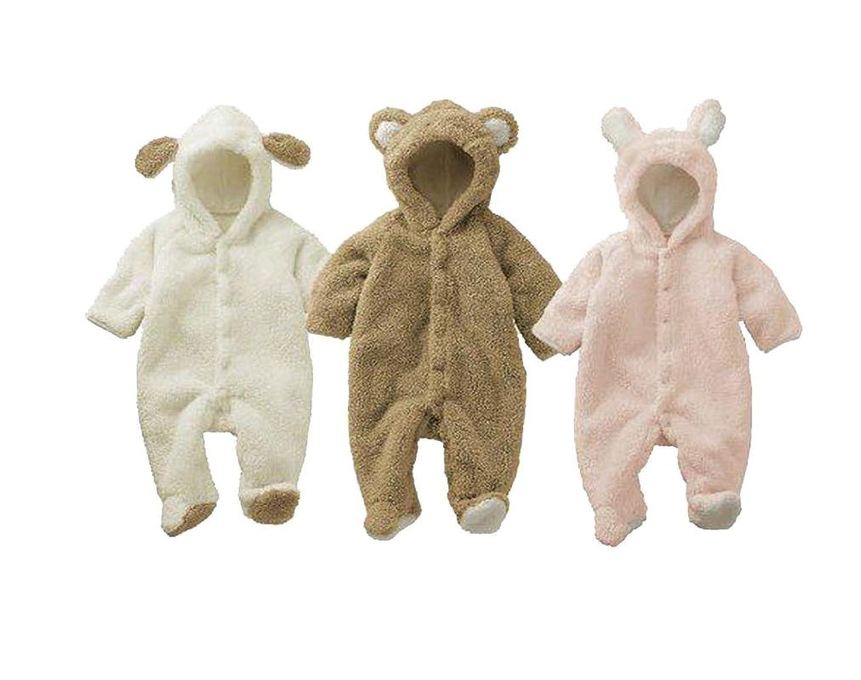 Amazon.com: [Babytree]Winter Baby Animal Fleece Jacket /Coat ...