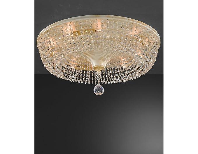 Plafoniere Per Camera Da Letto Classica : La lampada cono di cristallo plafoniera a soffitto