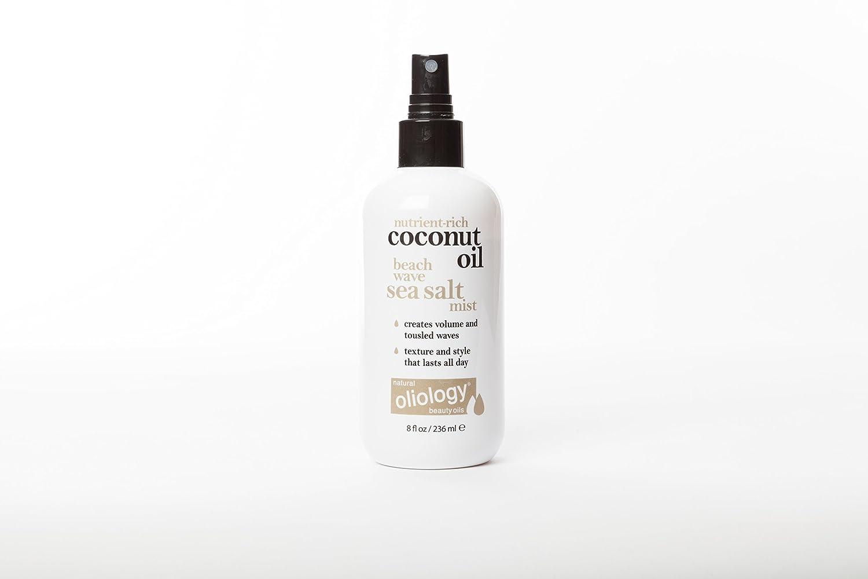 Oliology Coconut Oil Beach Wave Sea Salt Mist Spray, 8 Oz.