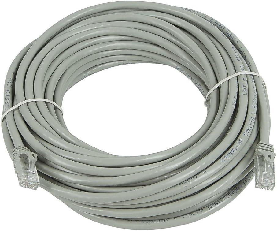CLASSYTEK FLEXboot Series Cat6 24AWG UTP Ethernet Network Patch Cable 25ft Gray