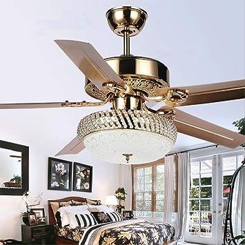 Le Fan Creative American 52 pulgadas ventilador de techo lámpara ...