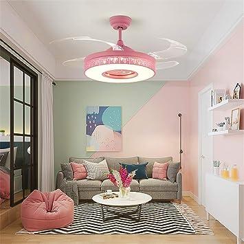 Ventilador LED ventilador de techo Luz LED de techo con control ...
