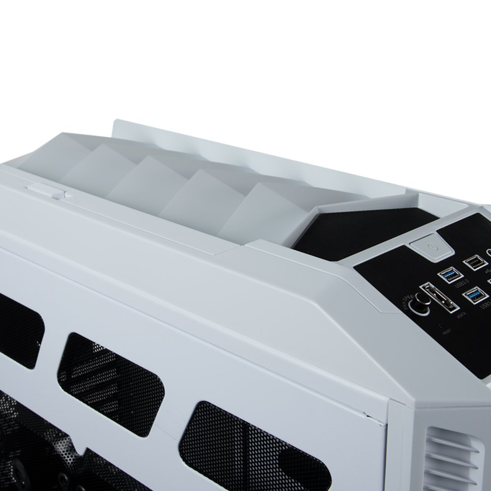 Rosewill Gaming ATX Full Tower Computer Case Cases THOR V2-W Black, white by Rosewill (Image #5)