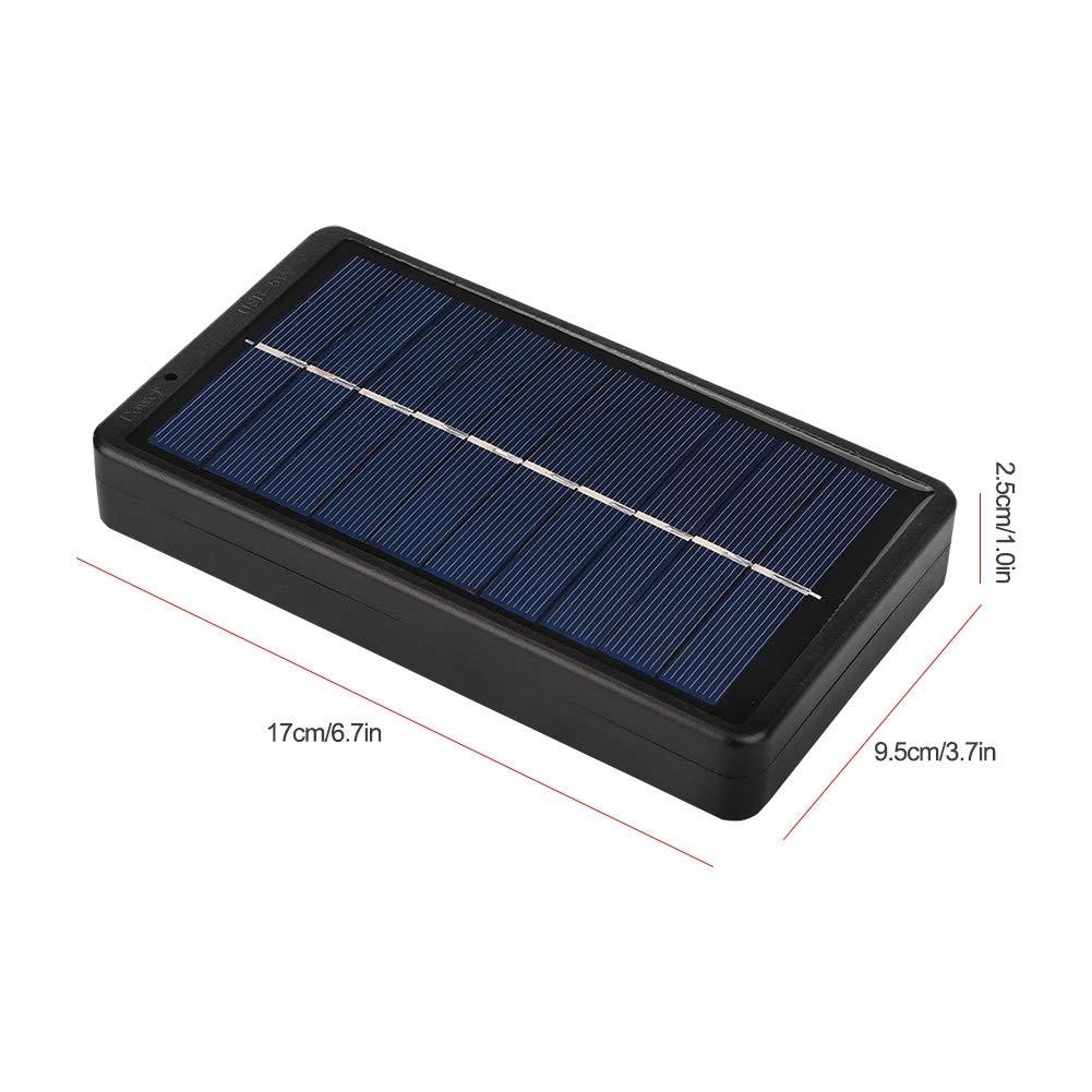 Amazon.com: Fosa - Cargador solar de 5 V y 2 W para viajes ...