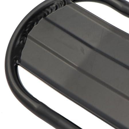 czos88 Porte-Bagages r/étractable en Alliage daluminium pour Porte-Bagages Porte-Bagages pour Porte-Bagages Porte-Bagages pour Porte-v/élos Noir