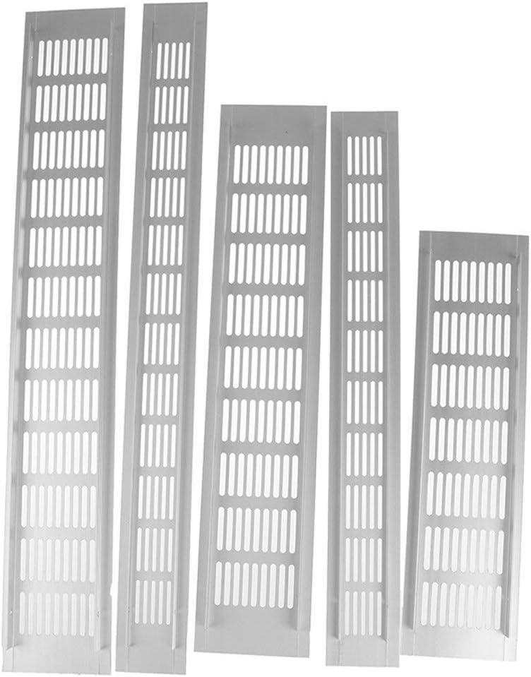 Color : A2 YDONGIIU Vents Lochblech Aluminiumlegierung Entl/üfter Lochblech Web Platte L/üftungsgitter