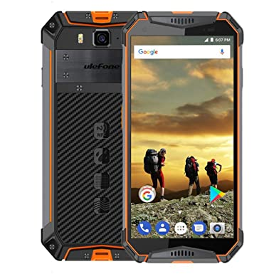 "the latest ab744 87cf6 Ulefone Armor 3 IP69K/IP68 Waterproof Mobile Phone Android 8.1 5.7"" FHD+  Screen,8-core Helio P23 4GB RAM 64GB ROM,10030mAh Battery,Global Version ..."