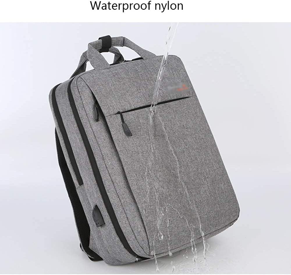 Multi-Size CY Laptop Backpack Casual Backpack with USB Charging Port Large Capacity Waterproof Backpack Suitable for Travel//Business//College//Ladies//Men