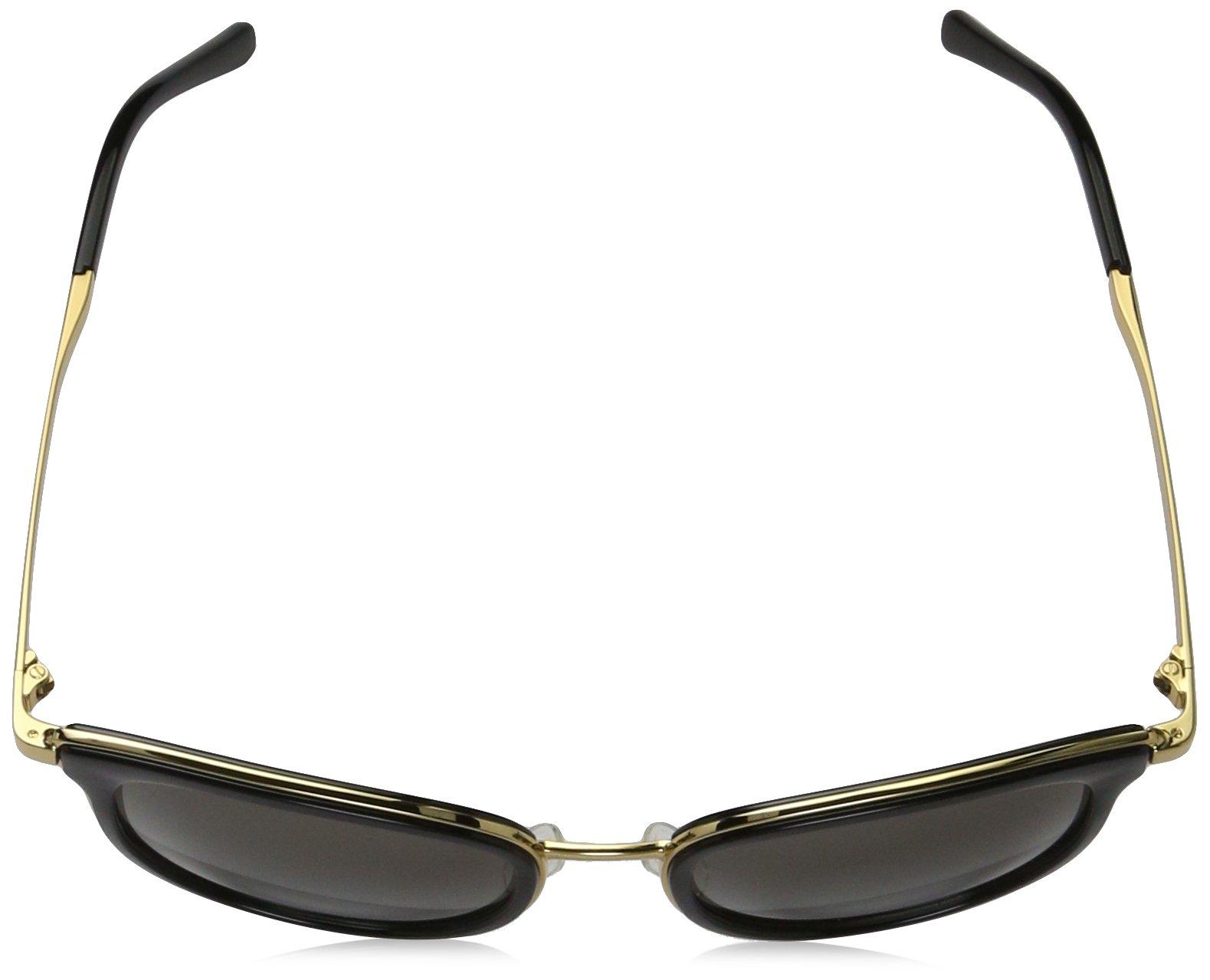 Michael Kors Women's Adrianna I MK1010 Black/Gold Sunglasses by Michael Kors (Image #4)