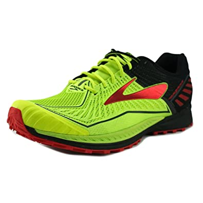 2016 Fashion Mens Sneakers - Brooks Mazama Nightlife/Black/High Risk Red