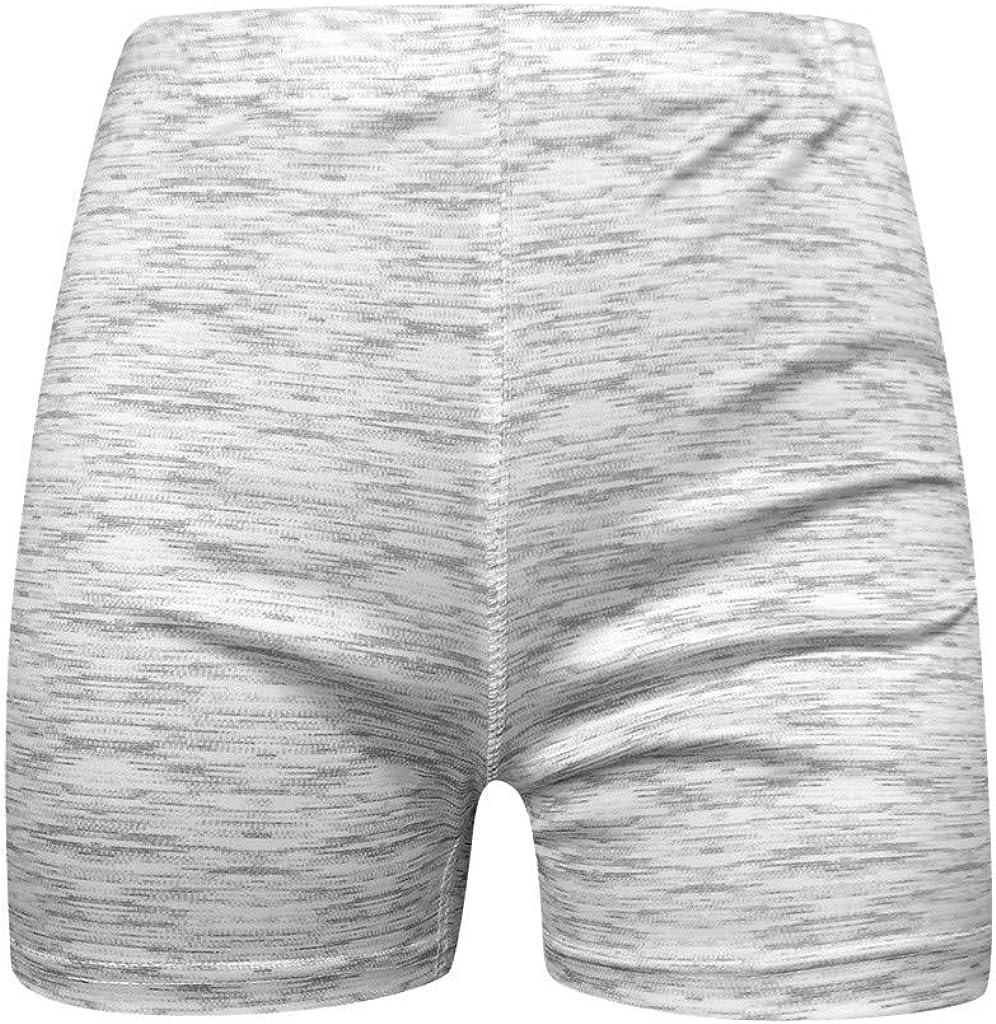Houshelp Womens High Waisted Yoga Shorts Sports Gym Ruched Butt Lifting Workout Running Hot Leggings Tummy Control