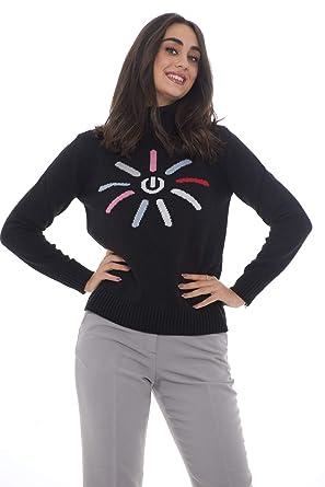 Emporio Armani Pull en Cachemire Femme 6Z2MYX 2M3CZ  Amazon.fr  Vêtements  et accessoires 9d1bb028ade