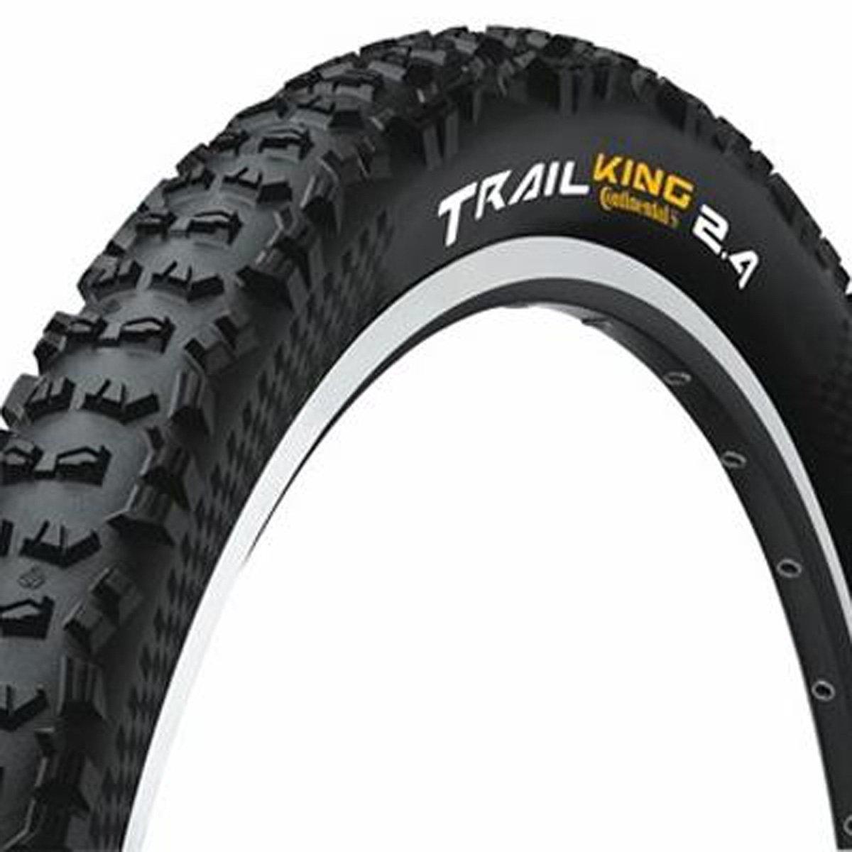 Continental Trail King 29x2.4 ProTection Black Chili Rubber and APEX w/Folding Bead [並行輸入品] B077QH3HP1
