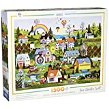 Ceaco Jane Wooster Scott - Somewhere Over The Rainbow Puzzle (1500 Piece)