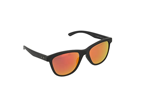 Oakley OO9320-10 Occhiali da sole Moonlighter Pop Polar, Polarizzati, Donna, Nero