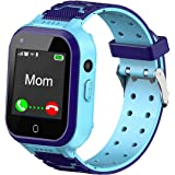 4G Kids Smart Watch,Kids Phone Smartwatch w GPS Tracker,Call,Alarm,Pedometer,Camera,SOS,Touch Screen WiFi Bluetooth Wrist Wat