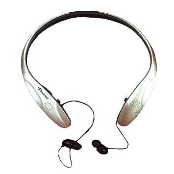LQQAZY Auricular Inalámbrico Auricular Bluetooth Deportivo Montado En El Cuello Doble Oído Teléfono Celular/TV / Computadora,Gold: Amazon.es: Electrónica