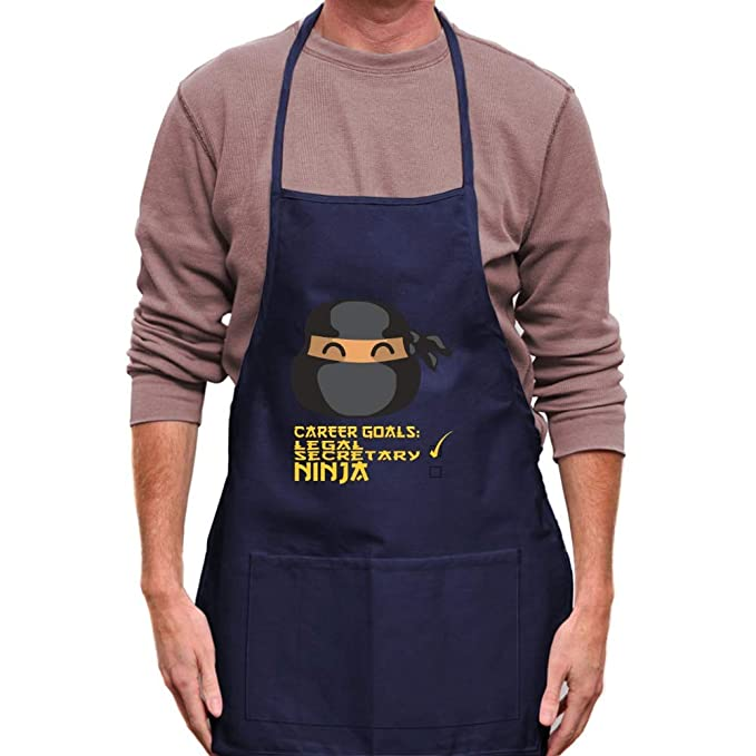 Amazon.com: Teeburon Career Goals Legal Secretary Ninja Face ...