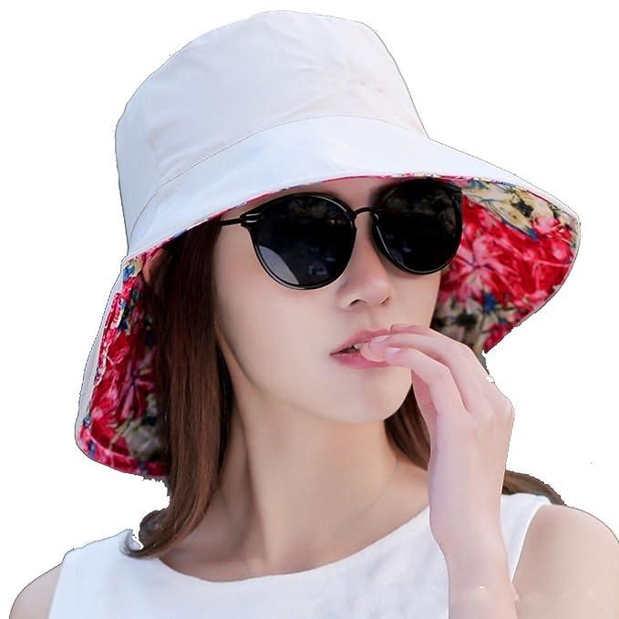 6e129a6c7cc21 Axiba Damas Nueva Estación Verano Casquillo Ajustable Deformable Protección  UV Sun Sombrero Al Aire Libre Acoplamiento