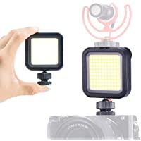 ULANZI 5500K COB Mini-LED-videolamp ultra helder opladen op camera verlichting voor iPhone Samsung Canon Nikon Sony Zhiyun Smooth 4 DJI OSMO Pocket/Action Gopro 5 6 7