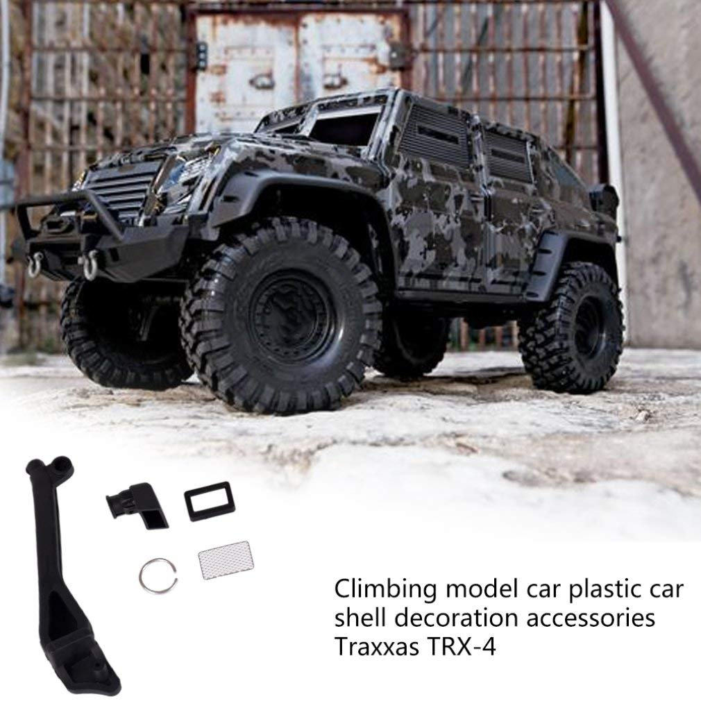 1//10 Climbing Truck Car Spare Parts Intake Snorkel Wading Throat for