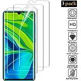 ANEWSIR [3 Pack] Protector de Pantalla para Xiaomi Mi Note 10 / Note 10 Pro/Note 10 Lite, Resistente a ArañazosUltra-Transparente,TPU Silicona Ultra Fino Protector de Pantalla