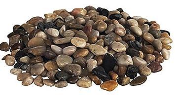 ikea knaster multicolor washed decorative small stones rocks 2 lbs bag - Decorative Rocks