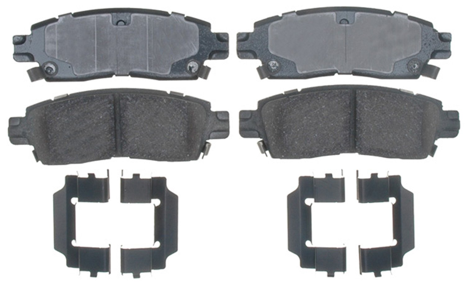 ACDelco 17D883CH Professional Durastop Ceramic Rear Disc Brake Pad Set