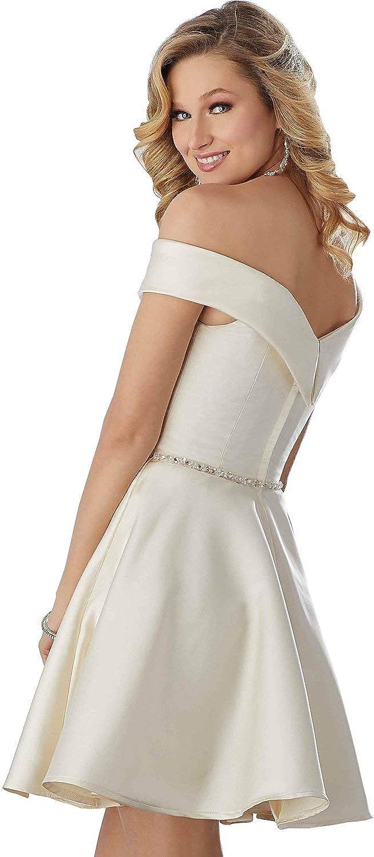 Nanger Robe De Bal En Satin À Épaules Courtes Pour Femme Fuchsia