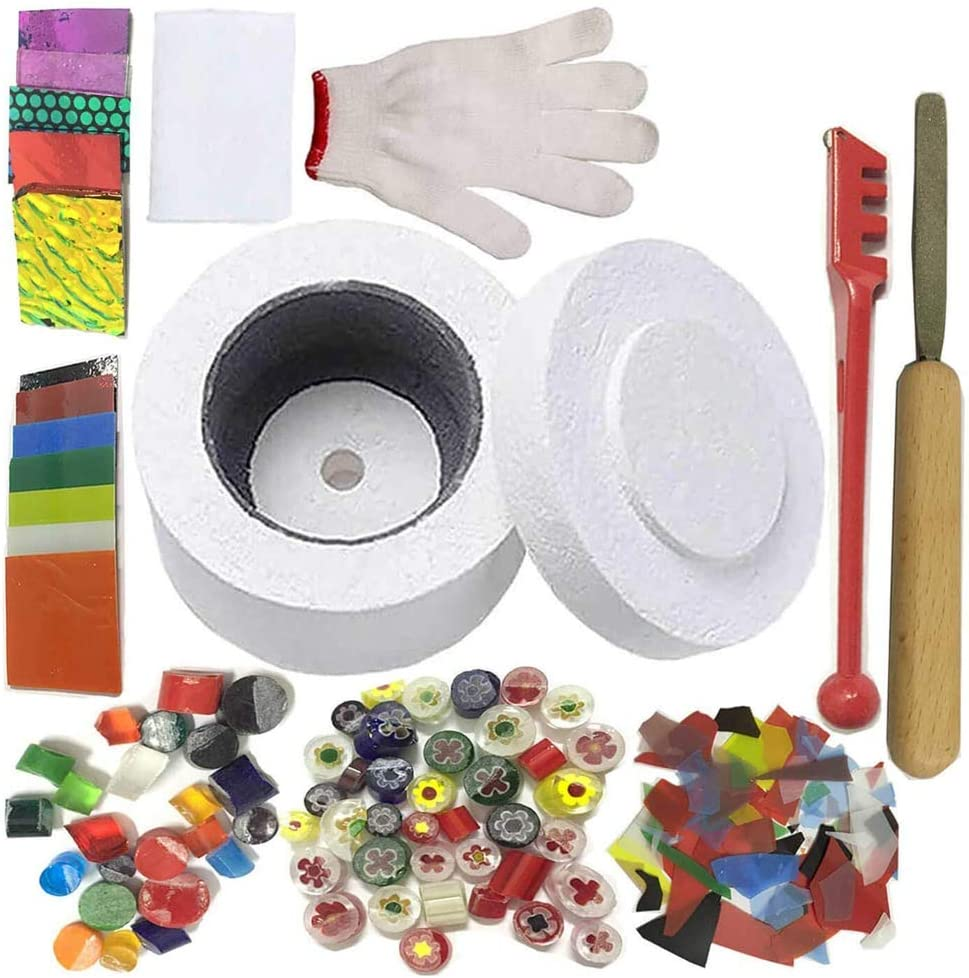 Kit profesional de horno de microondas – para herramientas de fusión de vidrio para bricolaje