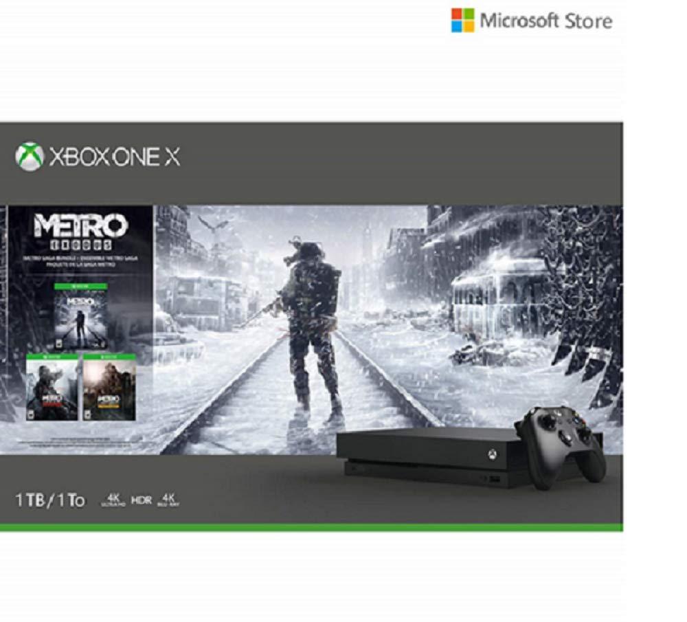 Microsoft Xbox One X 1TB Console - Metro Saga Bundle product image
