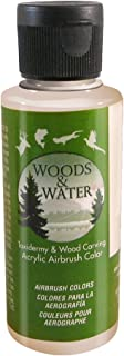product image for Badger Air-Brush Co. 4-Ounce Woods and Water Airbrush Ready Water Based Acrylic Paint, Beige