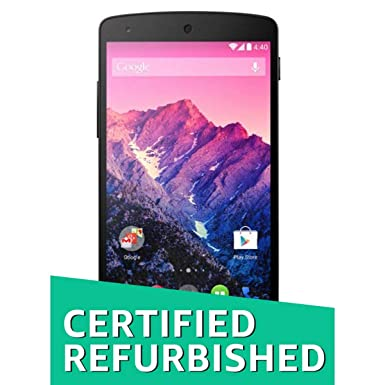 (Certified REFURBISHED) LG Google Nexus 5 D821 (16GB, Black) Smartphones at amazon