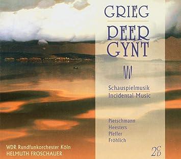 グリーグ:劇音楽「ペールギュント」全曲盤