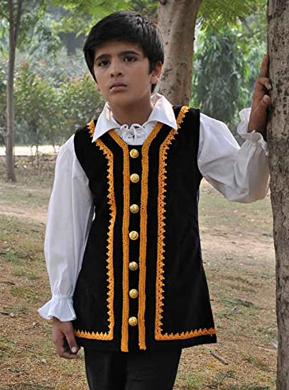 Kids Pirate Costume Vest (Small (4-6 yrs))  sc 1 st  Amazon.com & Amazon.com: Kids Pirate Costume Vest: Clothing
