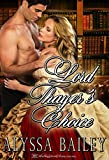 Lord Thayer's Choice (Lords and Little Ladies Book 1)