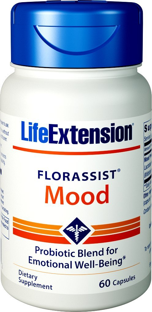 Life Extension Florassist Mood, 60 Capsules