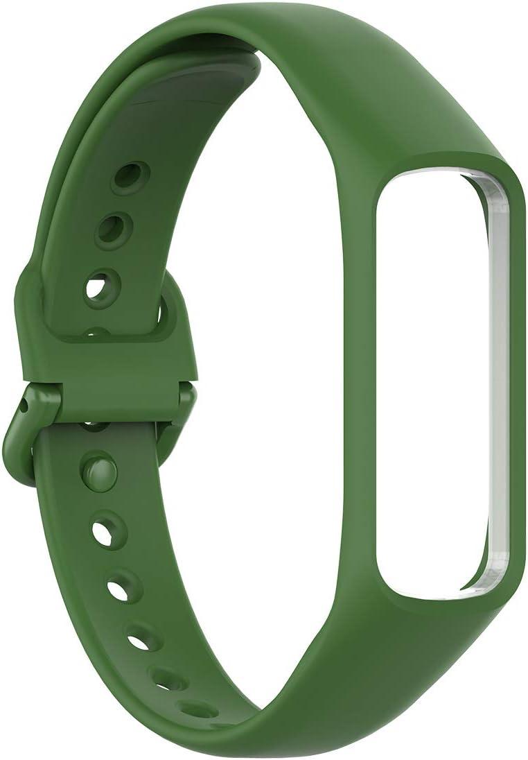 Malla para reloj Samsung Galaxy Fit 2 (silicona, verde)