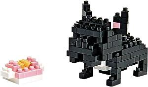 Nanoblock NBC 015–Mini Building Block 3D Puzzle–Bulldog
