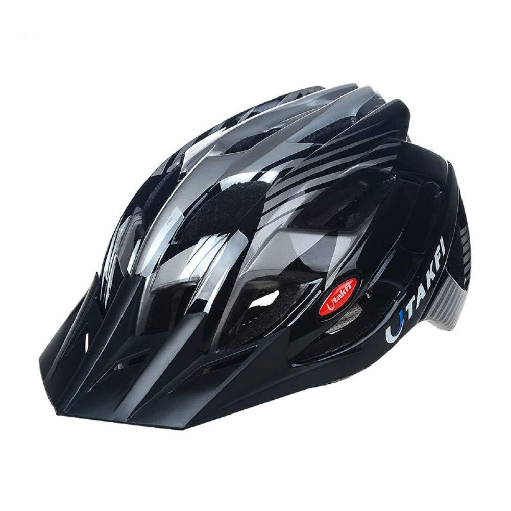 Light grau ZMHX Helm Fahrradhelm 23 Air Vents Fahrradschutzhelme Größe 56-61Cm Pc + Eps Ultraleicht, Super Schützend