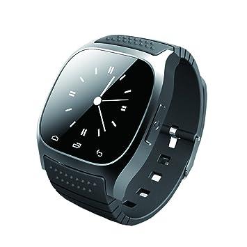GIMTVTION M26 Bluetooth Smart Watch, débloqué montre téléphone portable avec podomètre moniteur SMS Montre-