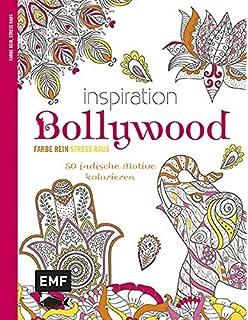 Indische Inspirationen 70 Ausmalbilder Zum Entspannen Ausmalbuch